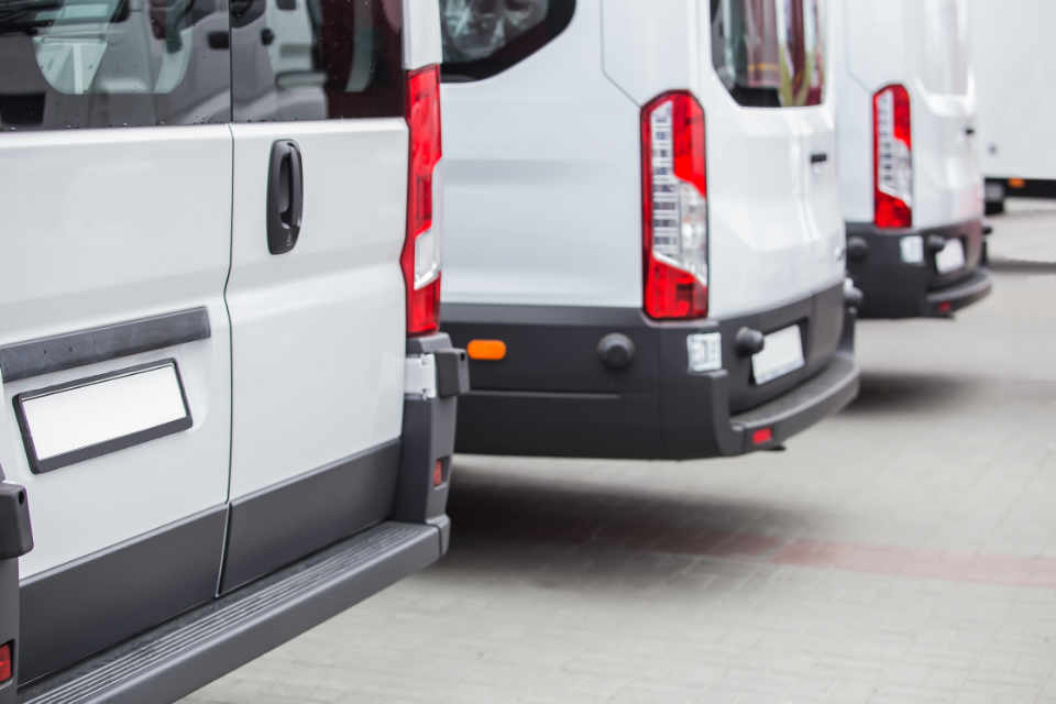 Minibuses for airport transfers
