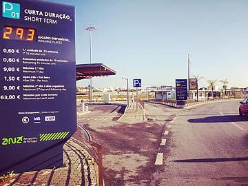 Park P1 - departures