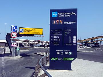 Park P2 - arrivals