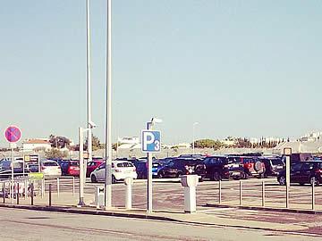 Parking spaces at park P3